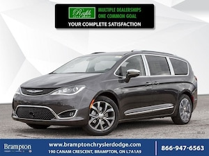 2019 Chrysler Pacifica LIMITED|ADAPTIVE CRUISE|BLIND SPOT|LANE DEPARTURE|
