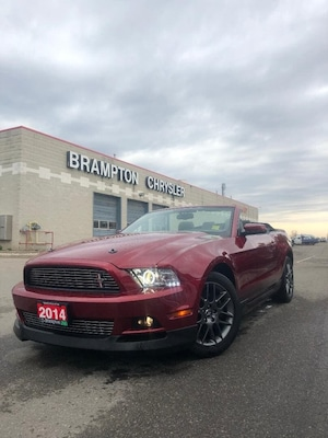 2014 Ford Mustang V6 PREMIUM|CONVERTIBLE|HEATED SEATS|LEATHER|AUTO|B