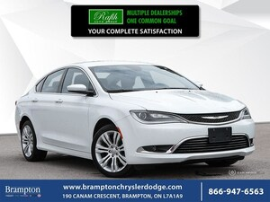 2016 Chrysler 200 LIMITED|REMOTE START|BACKUP CAMERA|NAV|HEATED SEAT