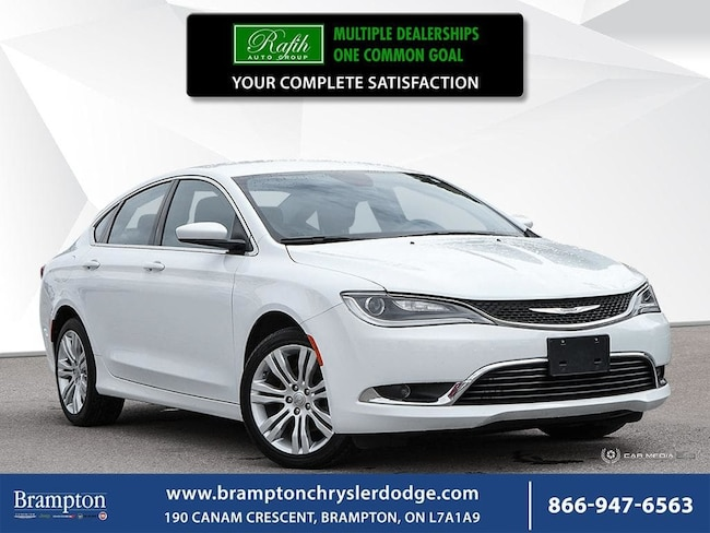 2016 Chrysler 200 LIMITED|REMOTE START|BACKUP CAMERA|NAV|HEATED SEAT Sedan