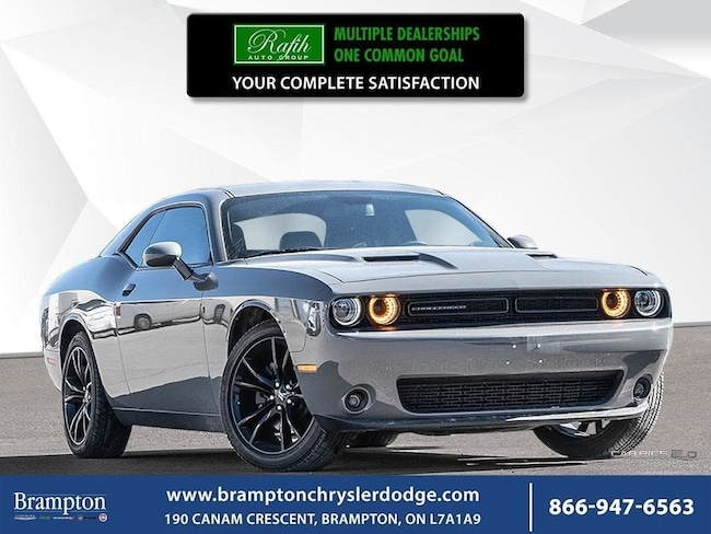Used 2018 Dodge Challenger For Sale at Brampton Auto Mall