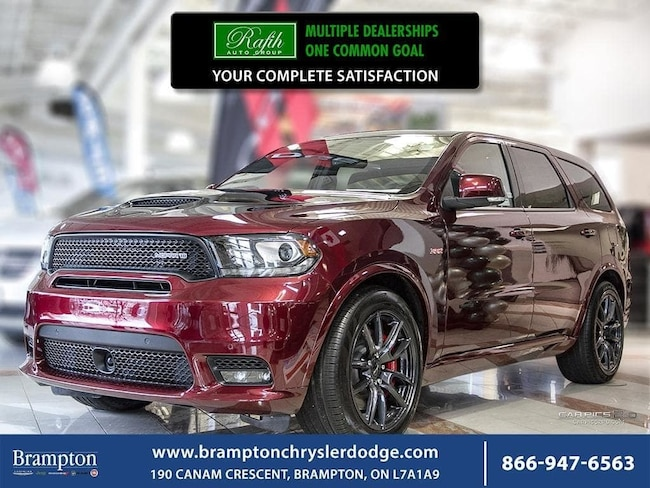 2018 Dodge Durango SRT|MOPAR PACKAGE|SUNROOF|NAV|BLINDSPOT MONITORING SUV