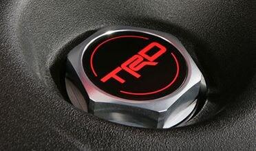 TRD Forged Aluminum Oil Cap