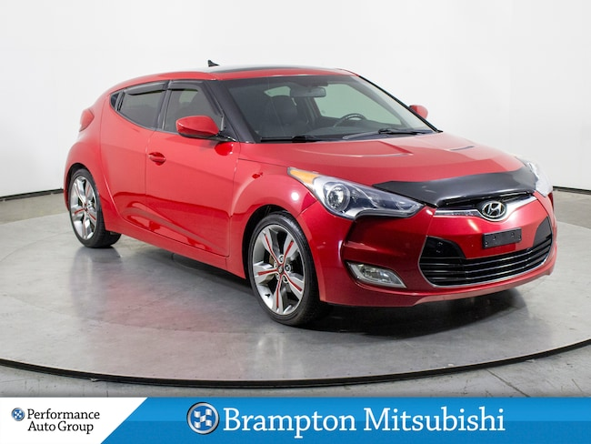 2012 Hyundai Veloster Tech (M6). LEATHER. REAR VIEW CAMERA. BLUETOOTH Hatchback