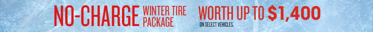 No Charge Winter Tire Package