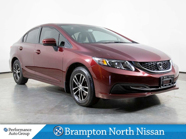 2014 Honda Civic LX. HTD SEATS. CAMERA. BLUETOOTH. ALLOYS Sedan