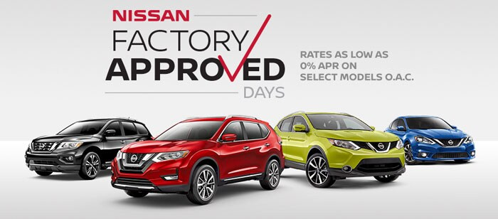 Factory Approved Days with Nissan