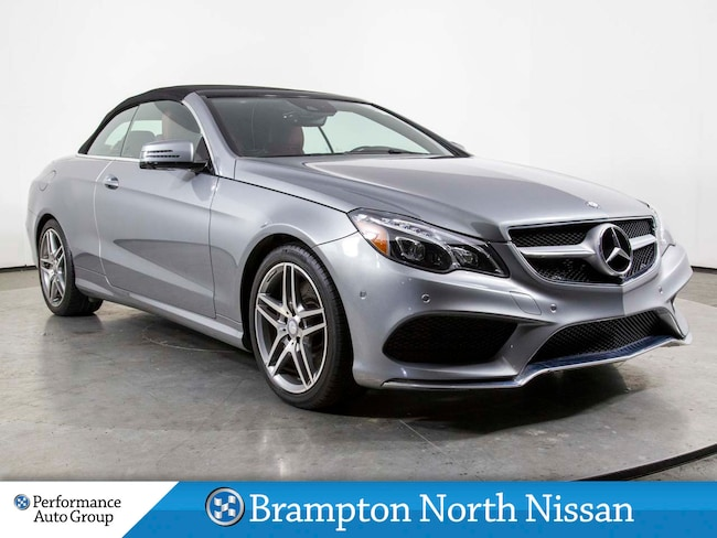 2016 Mercedes-Benz E-Class E400. AMG SPORT PKG. NAVI. PARK ASSIST. LEATHER Convertible