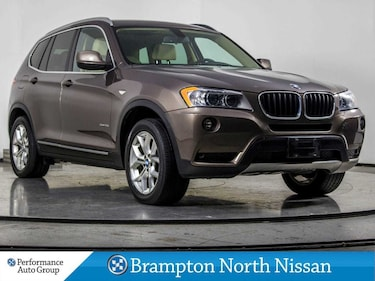 2013 BMW X3 XDRIVE. PANO ROOF. HTD SEATS. EXTRA WINTER WHEELS SUV