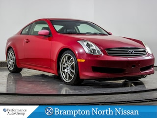 2007 INFINITI G35 BASE. LEATHER. HTD SEATS. ROOF. SPOILER. ALLOYS Coupe