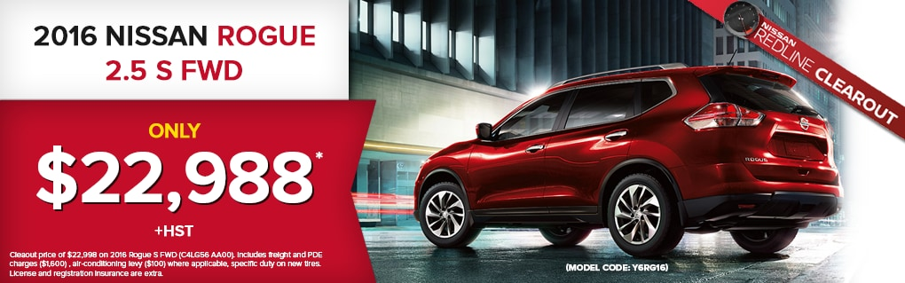 Great Deals on the Rogue. Click for Inventory