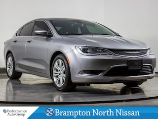 2015 Chrysler 200 LIMITED. HTD SEATS. R/START. CAMERA. WINTER WHEELS Sedan