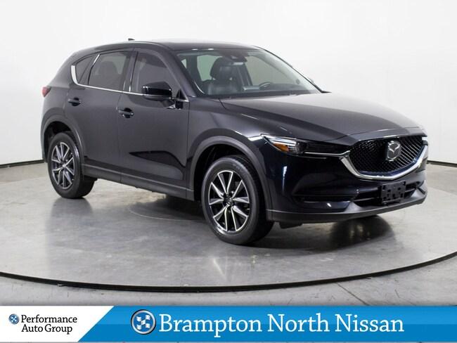 2017 Mazda CX-5 GT. NAVI. LEATHER. ROOF. CAMERA. HTD SEATS SUV