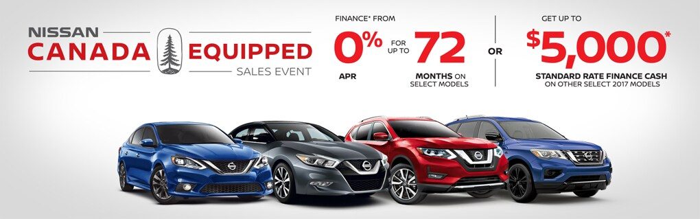 Canada Equipped Sales Event! Click to view Specials