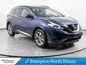 2016 Nissan Murano SV. AWD. R/START. CAMERA. HTD SEATS. PANO ROOF