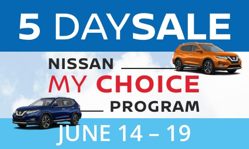 5 Day Sale at Brampton North Nissan