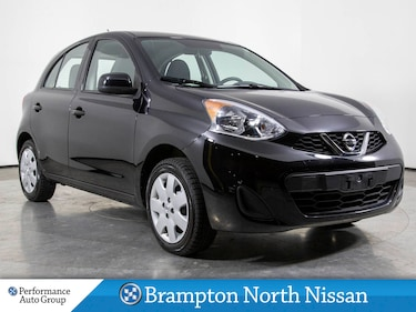 2017 Nissan Micra SV. POWER PKG. BLUETOOTH. CRUISE. TRACTION CONTROL Hatchback