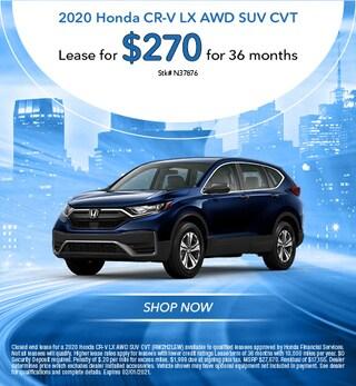 2020 Honda CR-V LX AWD SUV CVT