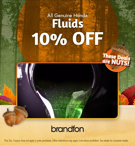 All Genuine Honda Fluids 10% Off