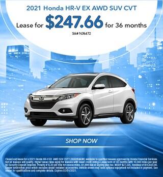 2021 Honda HR-V EX AWD SUV CVT