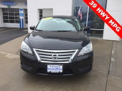 Used 2014 Nissan Sentra S Sedan For Sale in Brandford, CRT