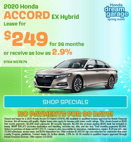2020 Hyundai Accord Hybrid