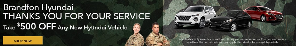 Military Service - Thank You