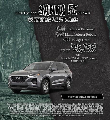 2020 Hyundai Santa Fe - October