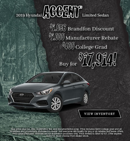 2019 Hyundai Accent - October