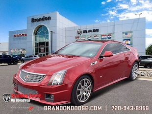 2011 Cadillac CTS-V Coupe 2dr Cpe 2dr Car