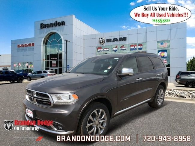 2018 Dodge Durango CITADEL ANODIZED PLATINUM AWD Sport Utility for sale near Denver, Aurora, & Centennial