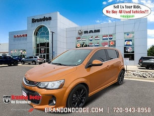 2018 Chevrolet Sonic Premier Auto Hatchback