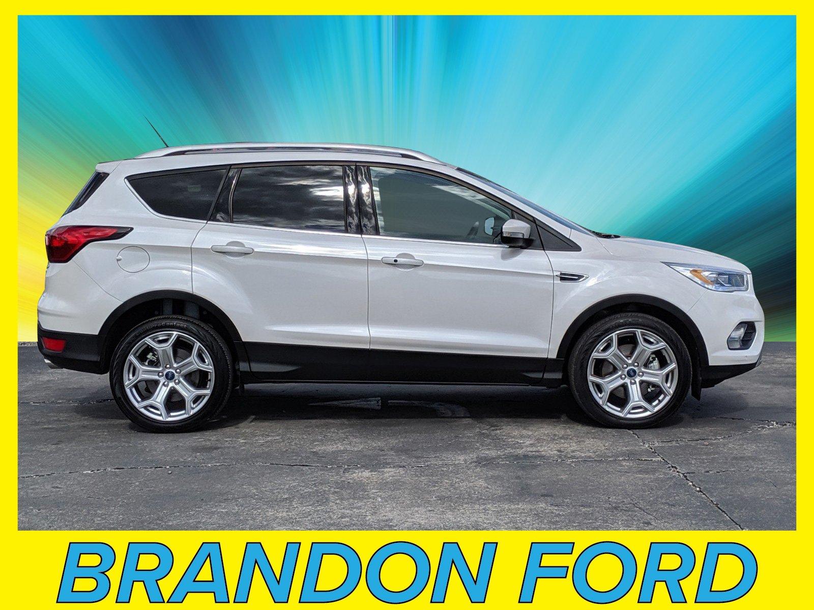 Featured Used 2019 Ford Escape Titanium SUV for sale in Tampa, FL