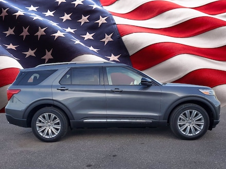 Featured new 2021 Ford Explorer Limited Hybrid Limited RWD for sale in Tampa, FL