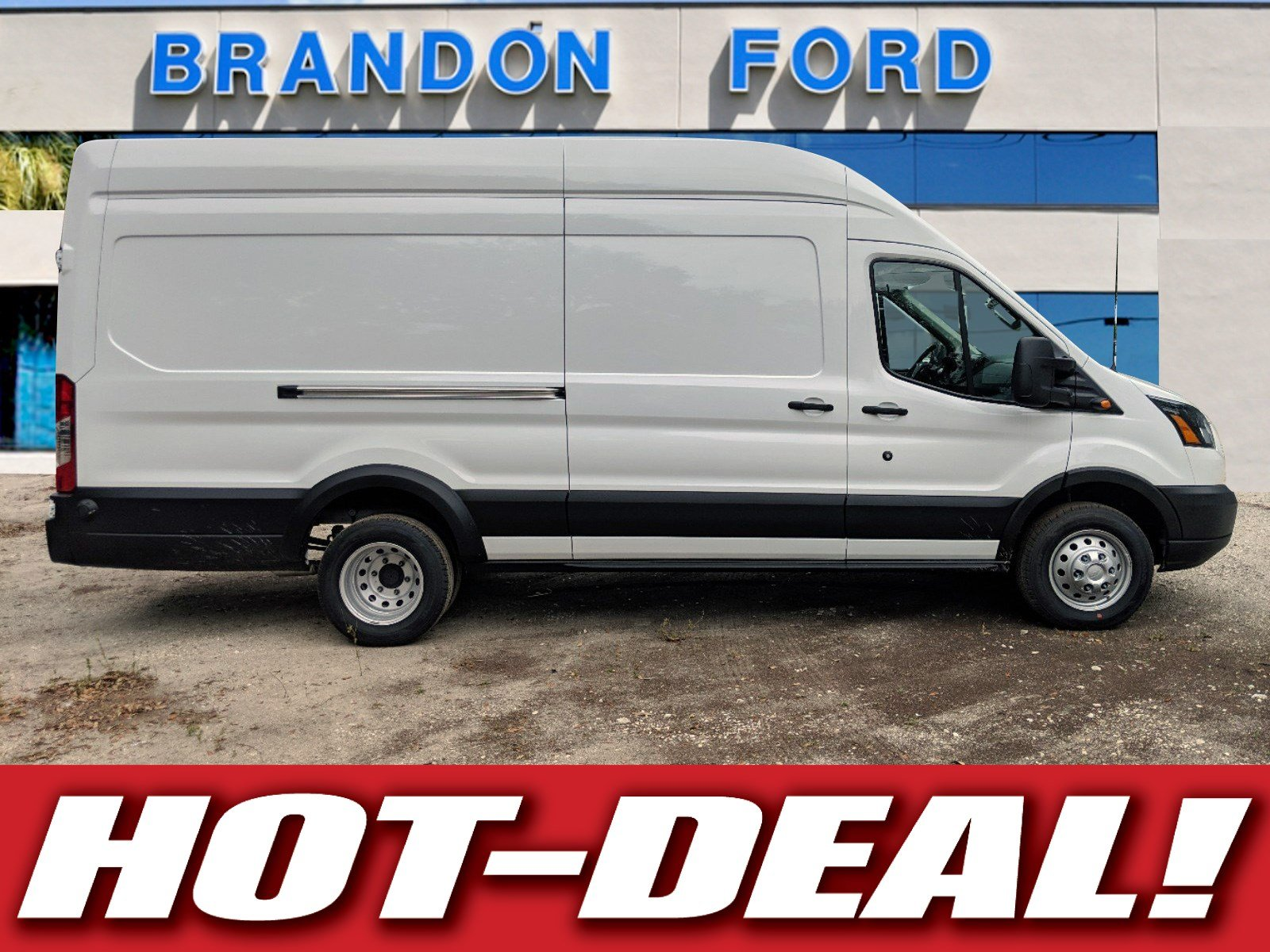 Featured new 2019 Ford Transit Commercial Cargo Van Commercial-truck for sale in Tampa, FL