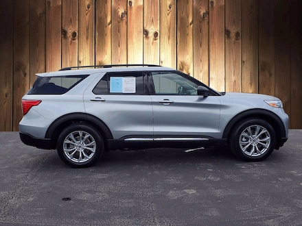 Featured Used 2020 Ford Explorer XLT XLT 4WD for sale in Tampa, FL