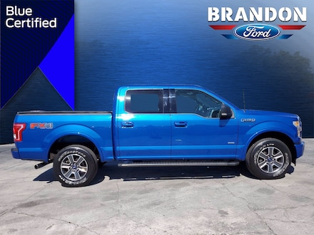 Featured Used 2017 Ford F-150 XLT XLT 4WD SuperCrew 5.5 Box for sale in Tampa, FL