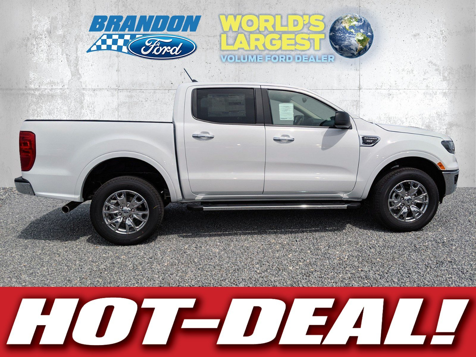 Featured new 2019 Ford Ranger XLT Truck for sale in Tampa, FL