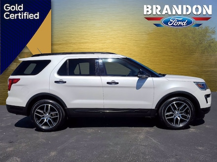 Featured Used 2019 Ford Explorer Sport Sport 4WD for sale in Tampa, FL