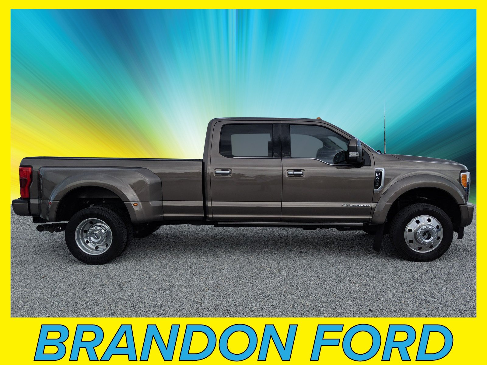 Featured Used 2018 Ford F-450 Limited Crew Cab Long Bed Truck for sale in Tampa, FL
