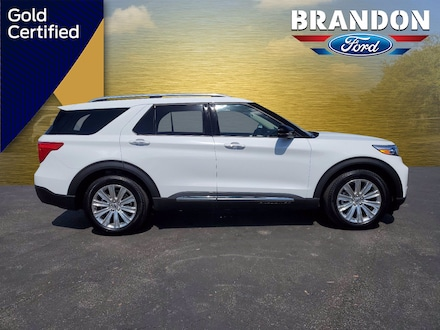 Featured Used 2020 Ford Explorer Limited Limited RWD for sale in Tampa, FL