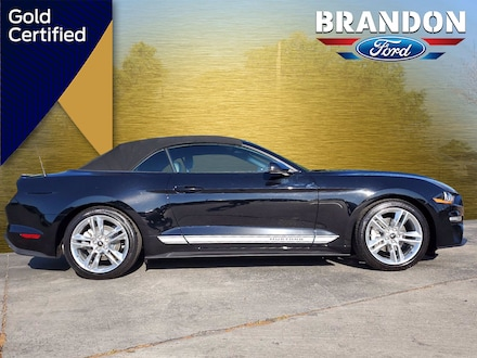 Featured Used 2020 Ford Mustang EcoBoost Premium Convertible for sale in Tampa, FL