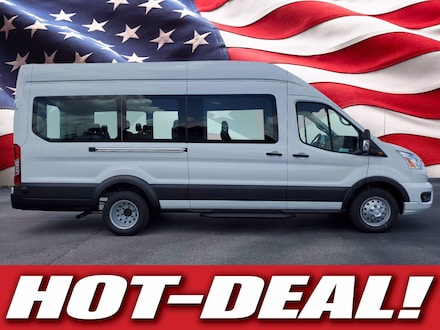 Featured new 2020 Ford Transit T-350 T-350 HD 148 EL High Roof XLT DRW RWD for sale in Tampa, FL