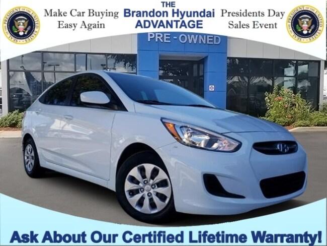 2016 Hyundai Accent SE Uber LOW CAR-FAX Certified LOW Miles! Sedan