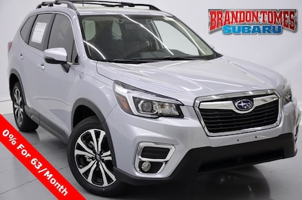 New 2020 Subaru Forester Limited SUV 0S5545 for sale near Fort worth, TX