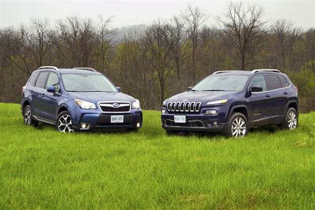 brandon tomes subaru 2015 subaru forester vs jeep cherokee. Black Bedroom Furniture Sets. Home Design Ideas