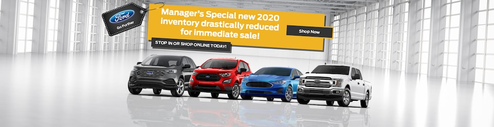 Manager's Special new 2020 inventory!
