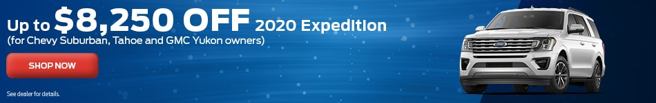 2020 Expedition SUV Conquest Offer