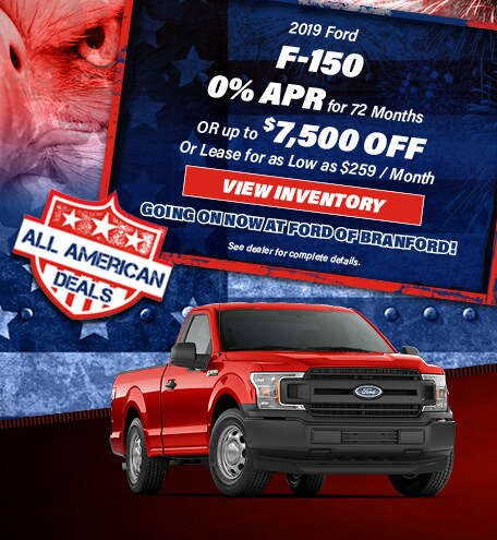 2019 Ford F-150 Special Offer
