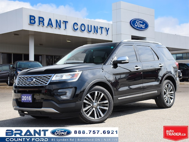2016 Ford Explorer Platinum - LEATHER, ROOF NAV! SUV